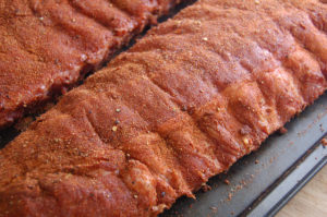 Seasoned ribs
